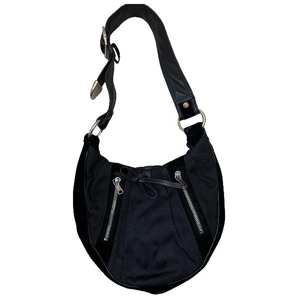 Saint Laurent Black Cloth Handbag