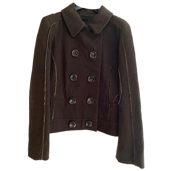 Louis Vuitton Brown Cotton Jacket