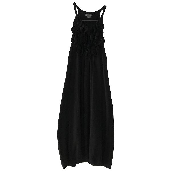 Emporio Armani Black Silk Dress