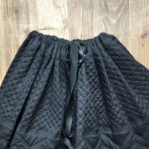 Yohji Yamamoto Black Linen Skirt