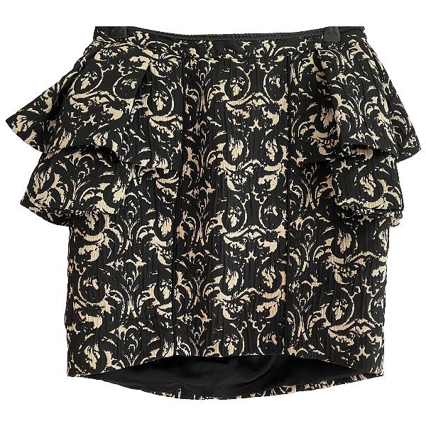 Jay Ahr Gold Skirt