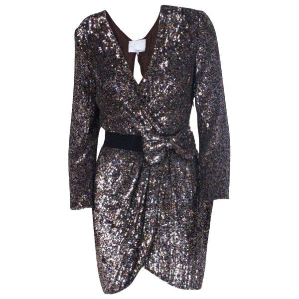 3.1 Phillip Lim Metallic Silk Dress