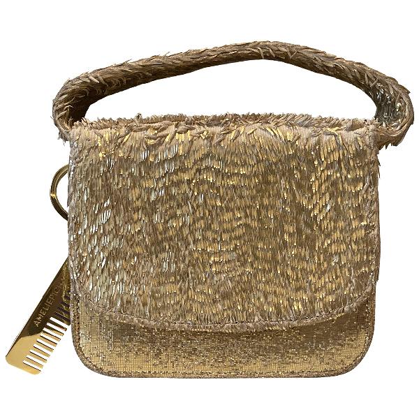 AmÉlie Pichard Gold Handbag
