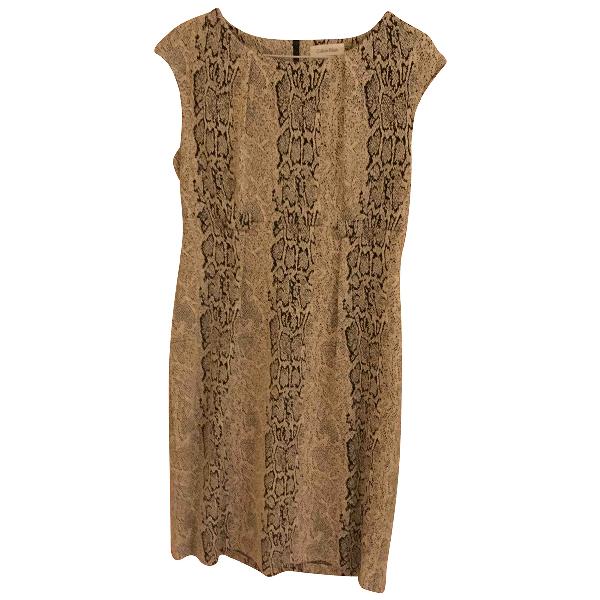 Calvin Klein Beige Cotton - Elasthane Dress