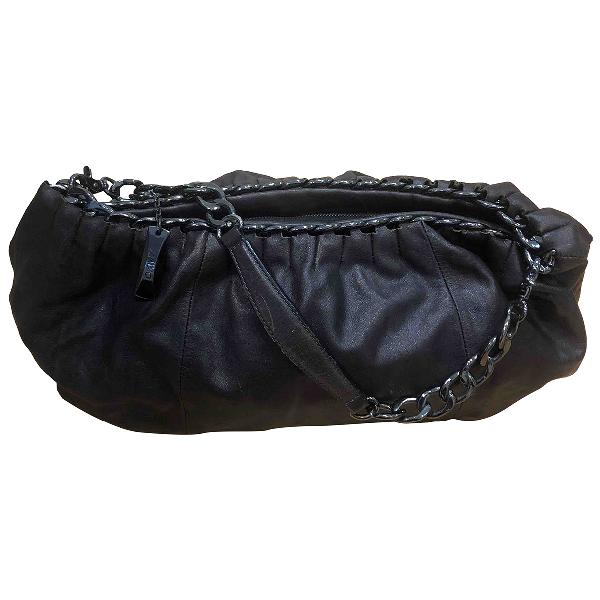 Dkny Brown Leather Handbag