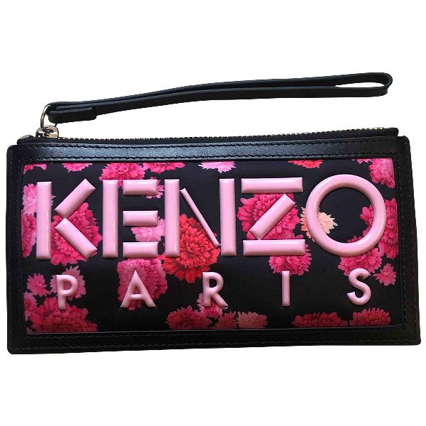 Kenzo Black Clutch Bag