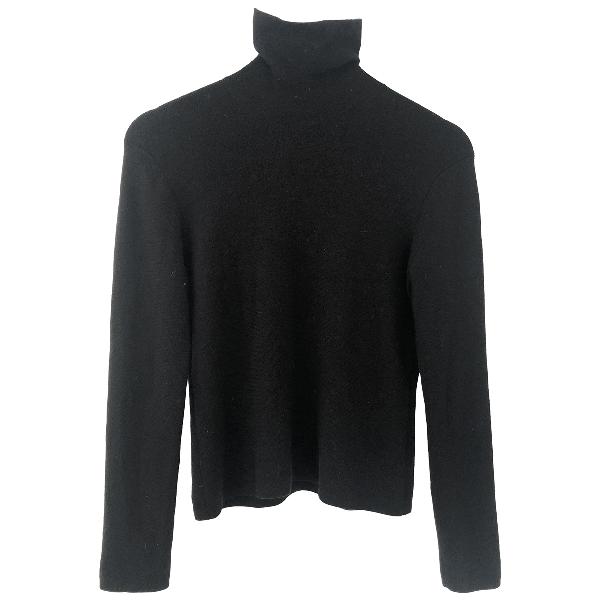 Brooks Brothers Black Wool Knitwear