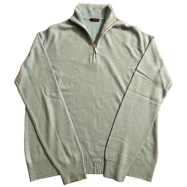 Cruciani Turquoise Cashmere Knitwear & Sweatshirts