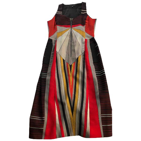 Jonathan Saunders Multicolour Silk Dress