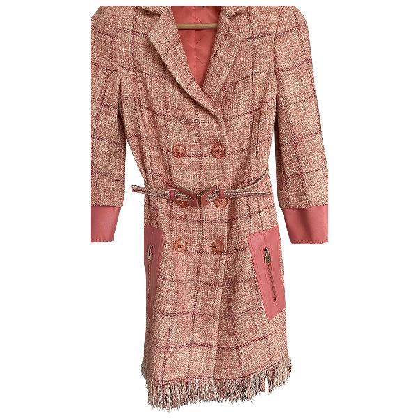 Elisabetta Franchi Pink Cotton Dress