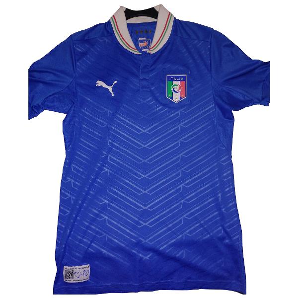 Puma Blue Lycra T-shirts