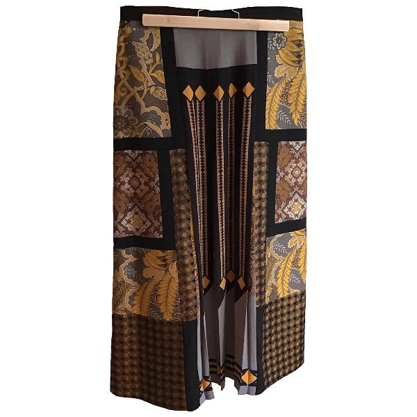 Etro Multicolour Silk Skirt