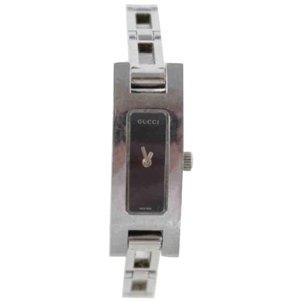 Gucci Metallic Steel Watch