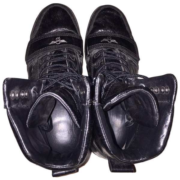 Creative Recreation Black Leather Boots