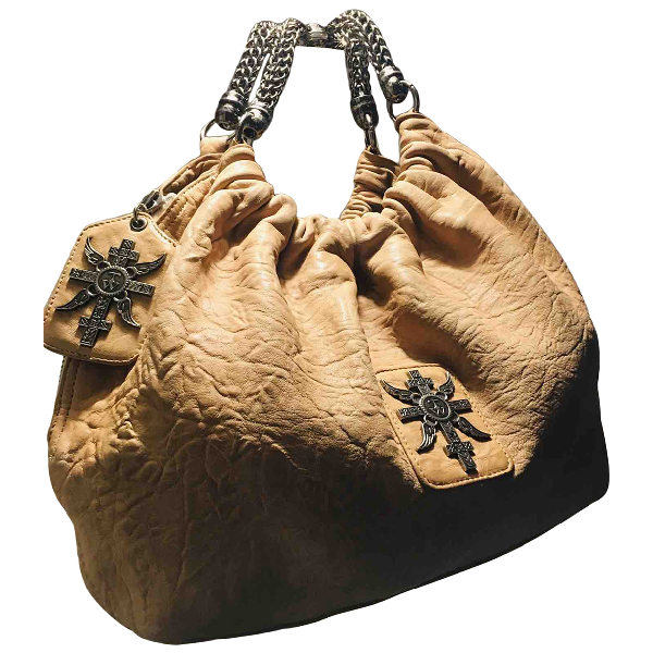 Thomas Wylde Camel Leather Handbag