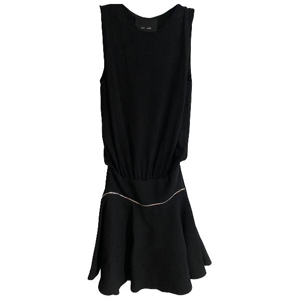Jay Ahr Black Wool Dress