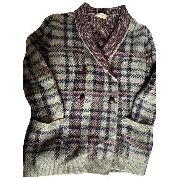 Paul Smith Grey Wool Knitwear