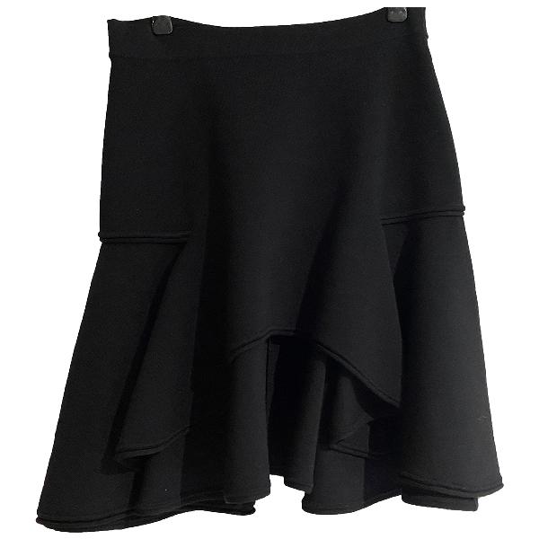 Givenchy Black Wool Skirt