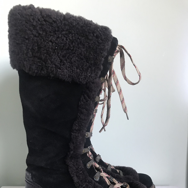See By ChloÉ Black Suede Boots