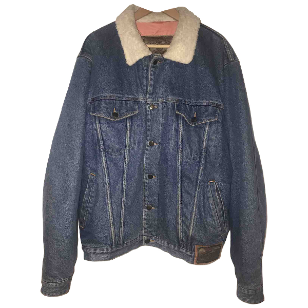 Armani Jeans Blue Denim - Jeans Jacket