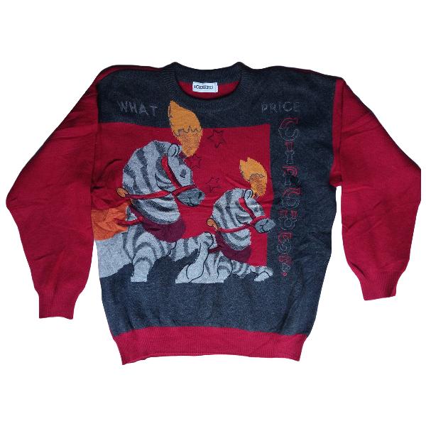Iceberg Burgundy Wool Knitwear & Sweatshirts