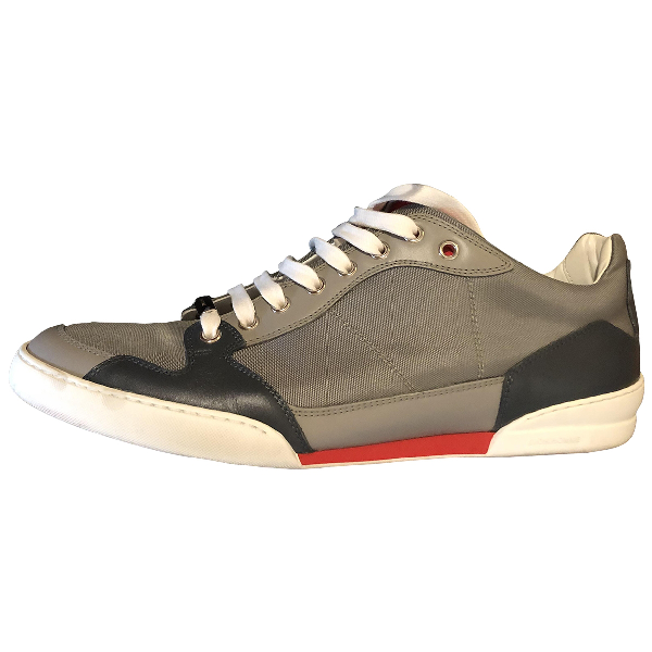Dior Grey Cloth Trainers