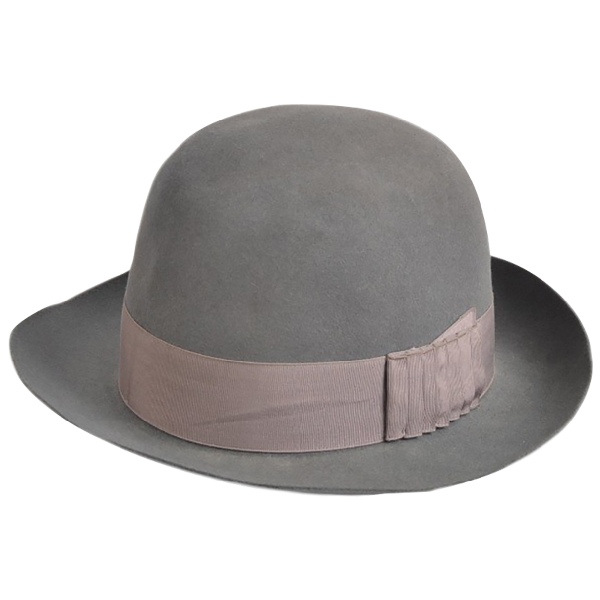 Borsalino Grey Wool Hat & Pull On Hat