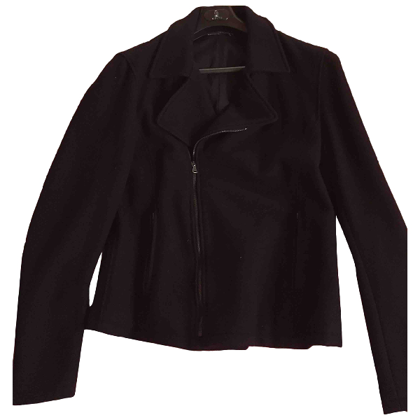 Parosh Black Wool Jacket