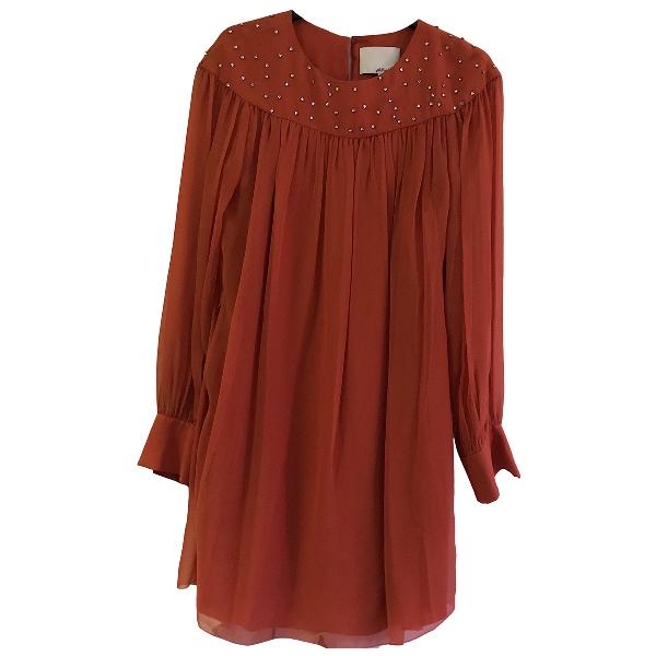 3.1 Phillip Lim Orange Silk Dress