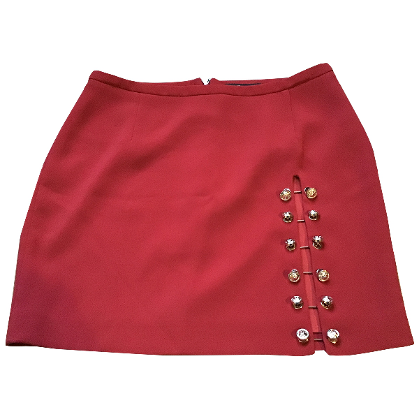 Versus Red Skirt