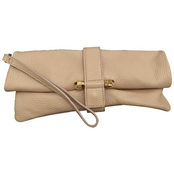 Viktor & Rolf Pink Leather Clutch Bag