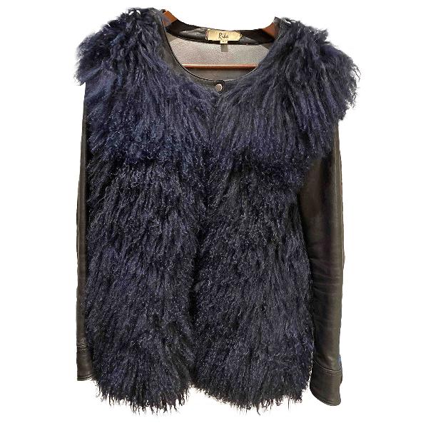 Rika Black Leather Jacket