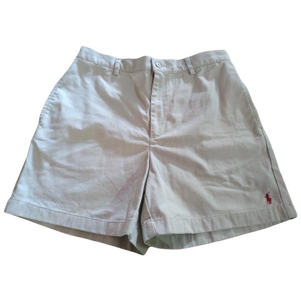 Ralph Lauren Grey Cotton Shorts