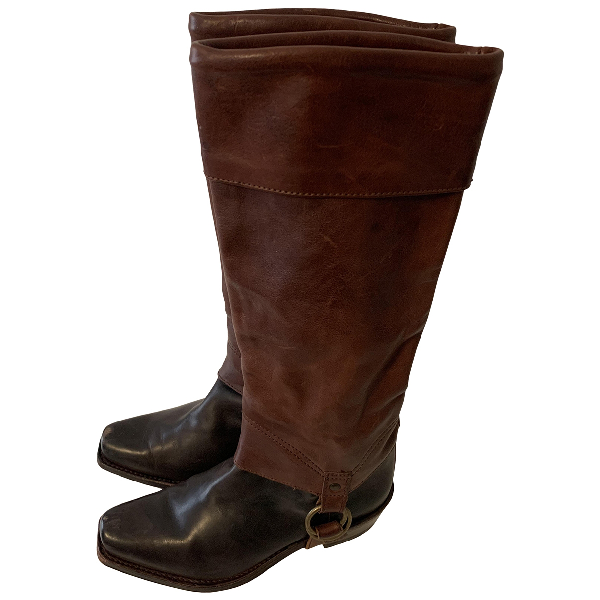 Juicy Couture Brown Leather Boots