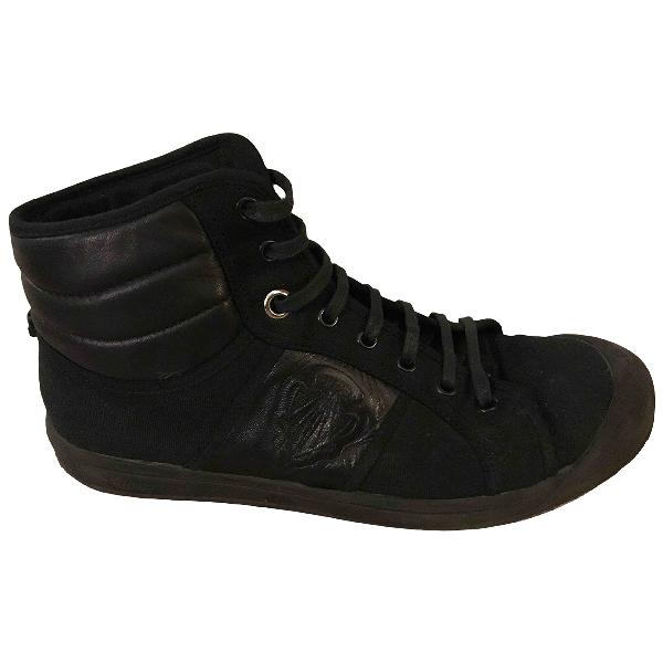 Gucci Queercore Black Cloth Boots