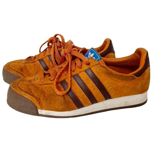 Adidas Originals Brown Suede Trainers