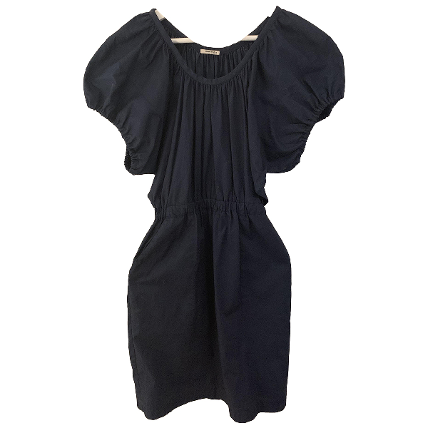 Miu Miu Navy Cotton Dress