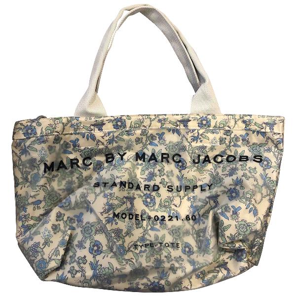Marc By Marc Jacobs Blue Cotton Handbag