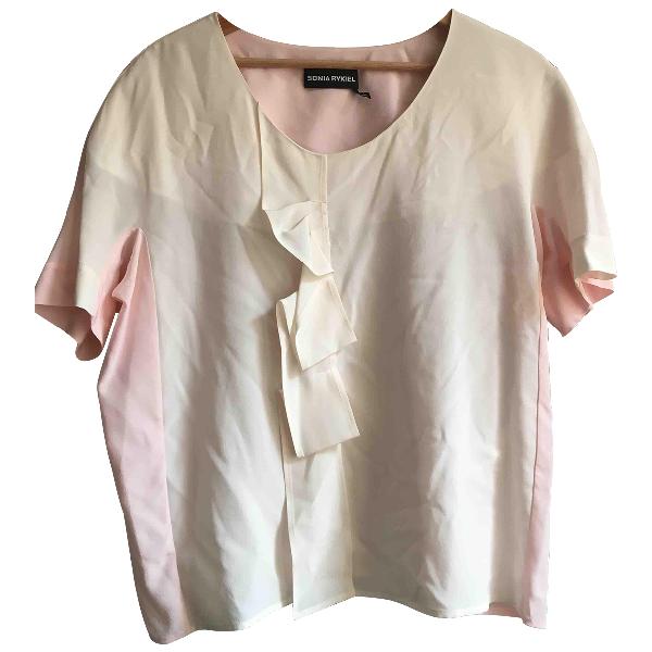 Sonia Rykiel Pink Silk  Top