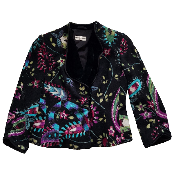 Emporio Armani Multicolour Wool Jacket