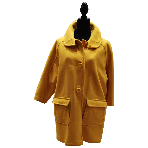 See By ChloÉ Yellow Wool Coat
