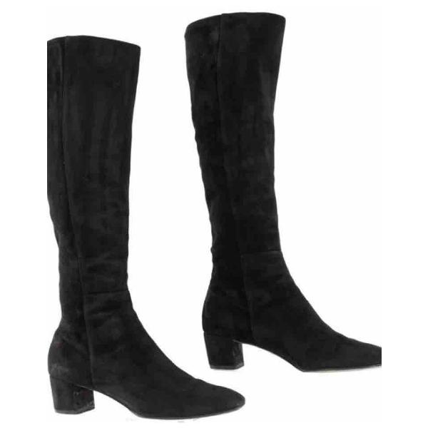 Gianvito Rossi Black Suede Boots