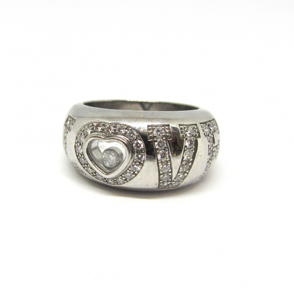 Chopard Love Silver White Gold Ring