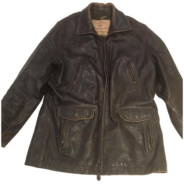 Chevignon Brown Leather Jacket