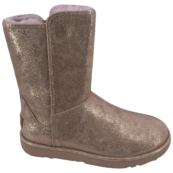 Ugg Gold Leather Boots