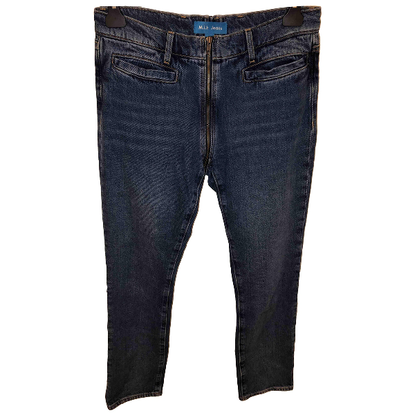 M.i.h Jeans Blue Cotton Jeans