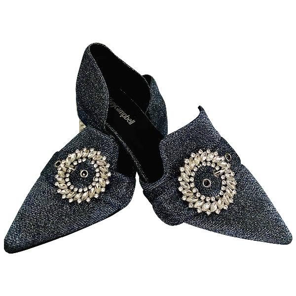 Jeffrey Campbell Blue Glitter Heels