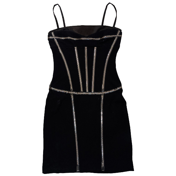 Dolce & Gabbana Black Wool Dress