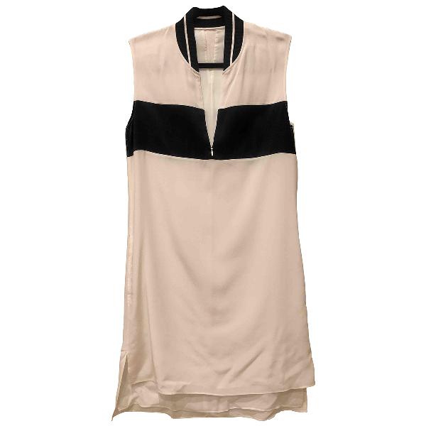 Rag & Bone White Silk Dress