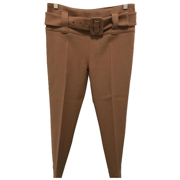 Prada Beige Wool Trousers